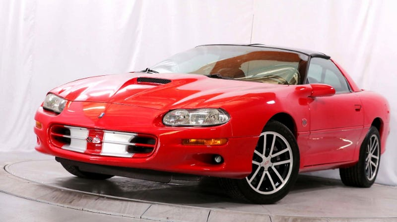 At 16 990 Is This 2002 Chevy Camaro Z28 Ss The Perfect