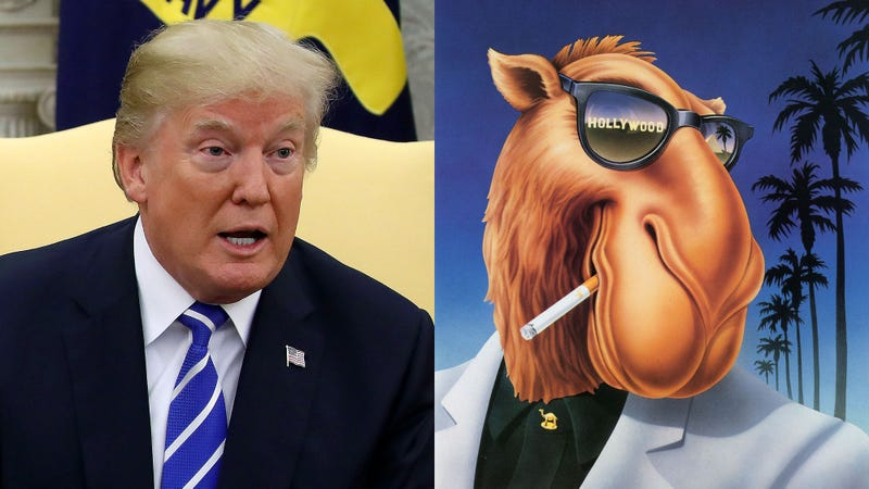 Illustration for article titled Celebrating An Icon: President Trump Has Invited Joe Camel To The White House In Honor Of Being The Coolest Camel He Has Ever Heard Of