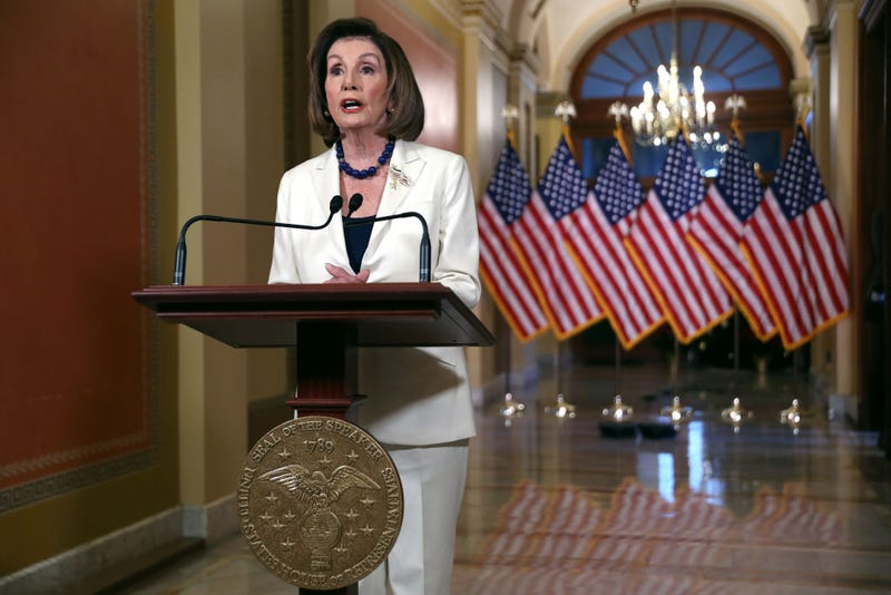 Illustration for article titled Speaker Nancy Pelosi Says Trump 'Leaves Us No Choice But to Act' on Impeachment
