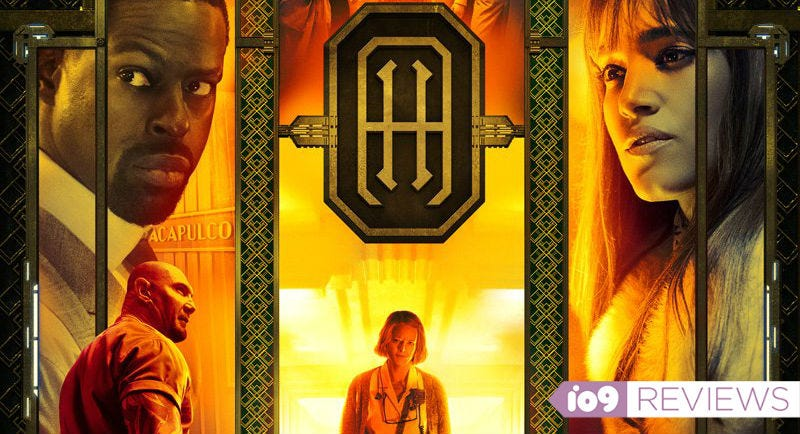 The poster for Hotel Artemis.