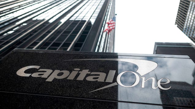 Capital One s Forking Over $80 Million For Being Shit At Cybersecurity