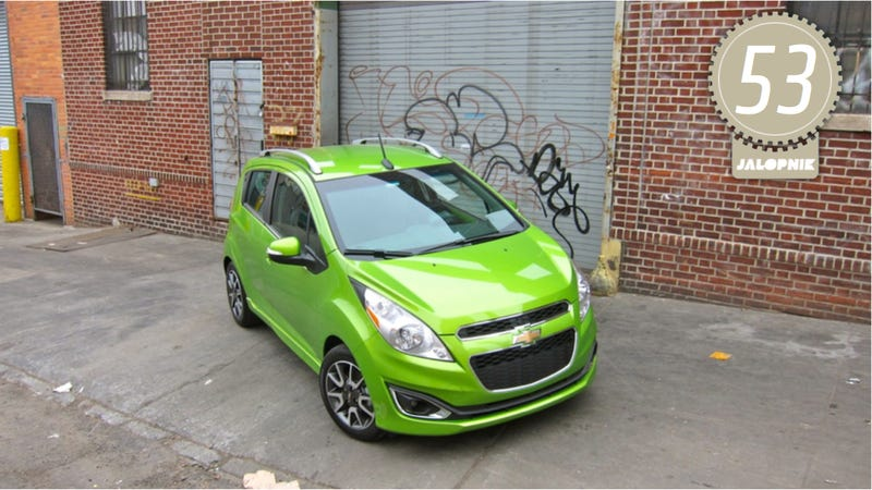 Illustration for article titled 2014 Chevy Spark: The Jalopnik Review