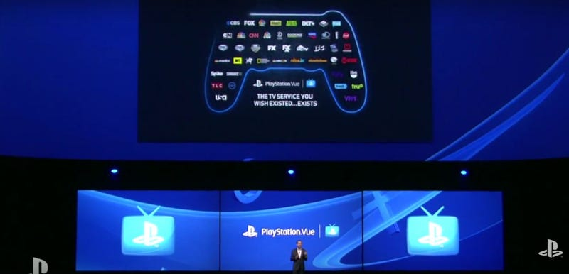 Illustration for article titled Playstation Vue Will Let You Pay For Individual TV Channels (Updated)