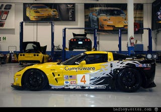 Illustration for article titled 2010 Corvette C6.R Livery: First Look