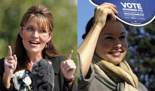 Illustration for article titled Sarah Palin Slams Liberal Media (Ashley Judd?) In Farewell Speech