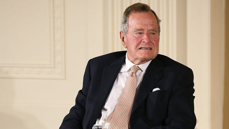 Illustration for article titled Pollster Informs George H.W. Bush That Dying So Soon After Wife Would Really Boost Favorability Rating