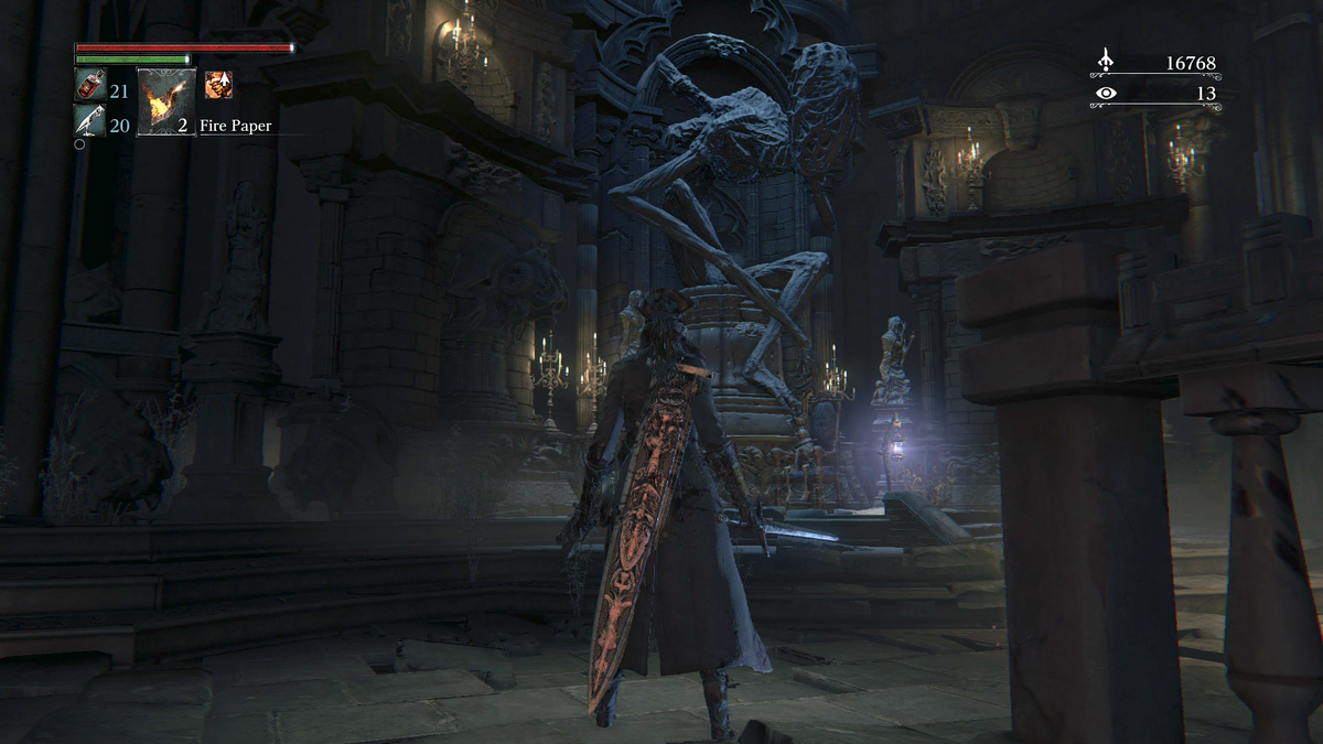 Whoops, I Started Playing Bloodborne Again