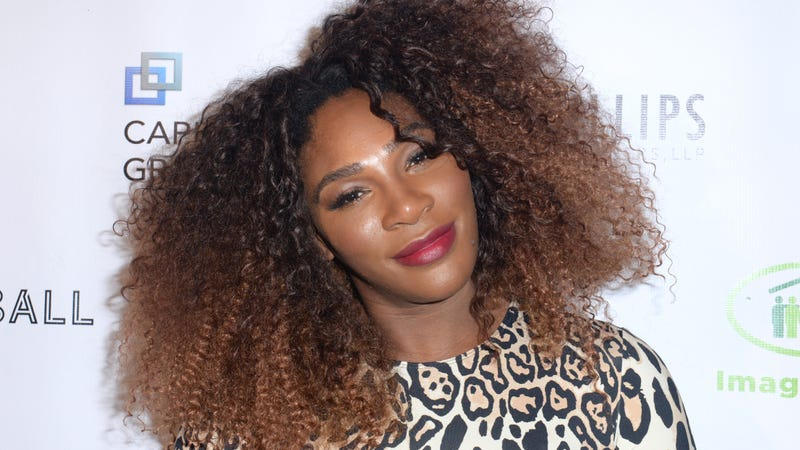 Serena Williams attends The Imagine Ball Honoring Serena Williams Benefiting Imagine LA Presented By John Terzian & Val Vogt on Sept. 23, 2018 in Los Angeles, California. (Photo by
