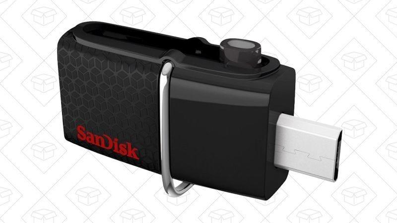 USB SanDisk Ultra Dual de 32GB, $10
