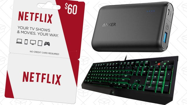 Today's Best Deals: Your Favorite Anker Products, Weather Radios, Mechanical Keyboard