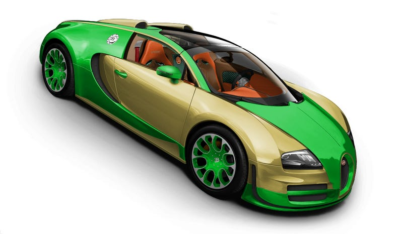 Illustration for article titled Bug-Ugly: Bugatti configurator contest.