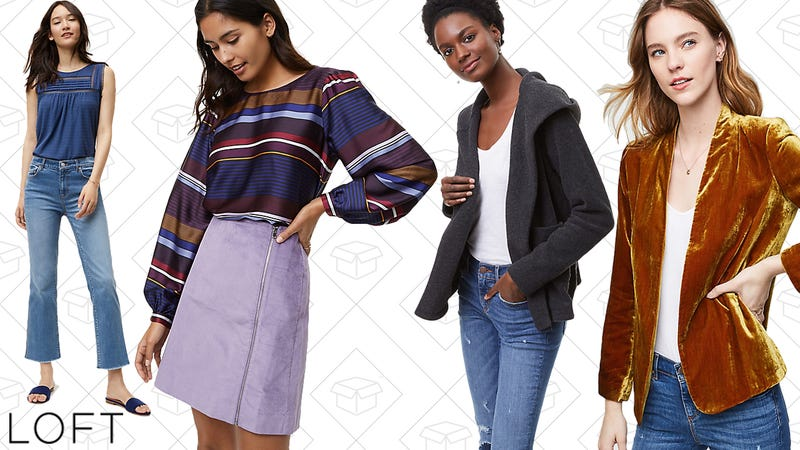 Extra 70% off sale styles | LOFT | Use code EXTRA