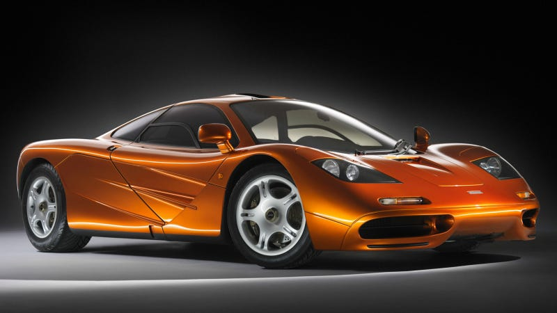 Illustration for article titled The Legendary History Of The McLaren F1