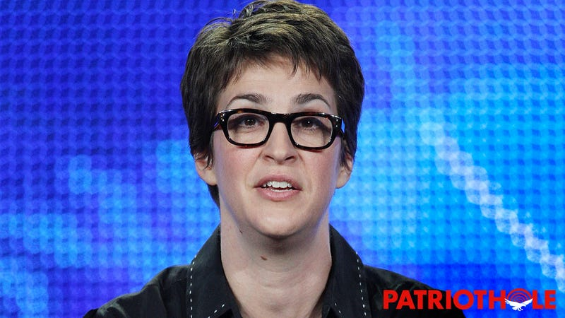 Liberal Hypocrisy: MEDIA GORGON Rachel Maddow Is Criticizing Our Loyal President Even Though She IS THE PRESIDENT