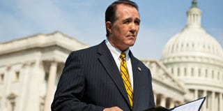 Rep. Trent Franks (R-Ariz.) during a news conference on Capitol Hill in 2011 (Brendan Hoffman/Getty Images)