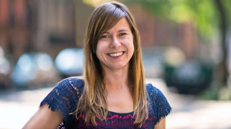 Anna Sale, host of WNYC's Death, Sex & Money podcast
