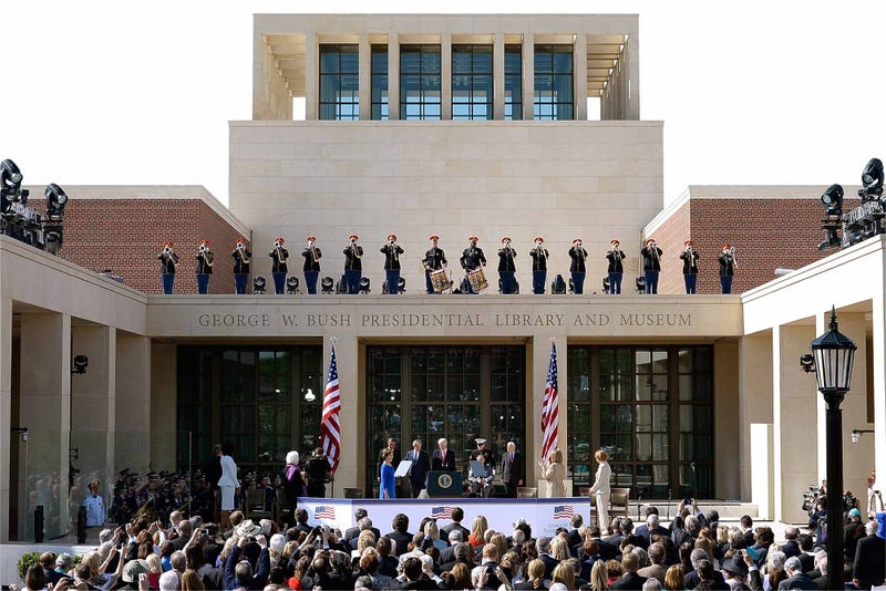 Features Of George W Bush Presidential Library