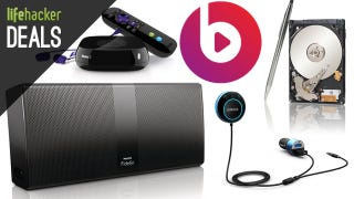 Illustration for article titled Deals: Bluetooth Everything, 25% off Beats Music, Hybrid Storage, Roku