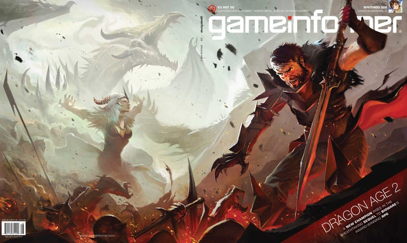 Illustration for article titled Dragon Age 2: New Game, New Hero