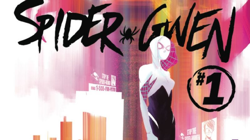 Illustration for article titled Exclusive Marvel preview: The Radioactive Spider-Gwen swings back into action