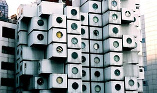Illustration for article titled Nakagin Capsule Tower Looks to be From the Future, But Probably Won't Make it There