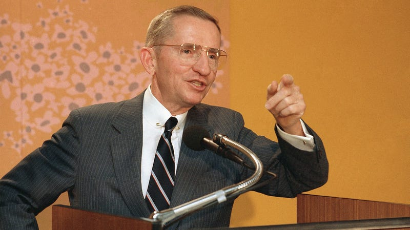 Perot in 1986.