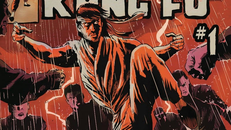 Illustration for article titled Exclusive Marvel preview: Master Of Kung Fu brings martial arts to Secret Wars