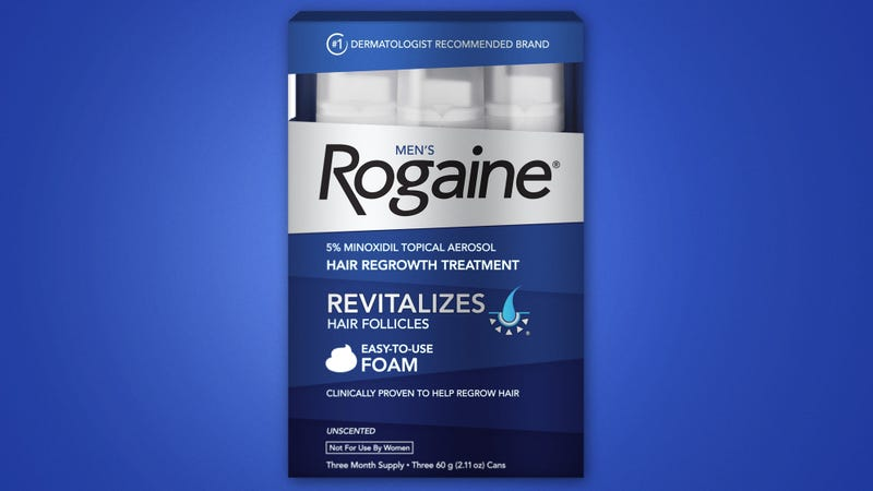 Emergency Recall: Rogaine Is Pulling Its Product From Shelves After Discovering That It Has The Unintended Side Effect Of Doubling Customers' Penis Sizes