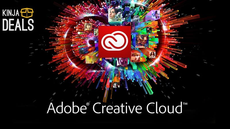 Illustration for article titled Today's Your Only Chance of the Year to Save on Adobe Creative Cloud Subscriptions