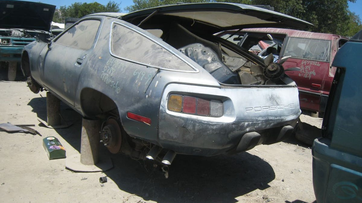 Porsche 928, Despite Costing As Much As 10 Pintos When New.
