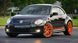 Illustration for article titled First modified 2012 VW Beetle inspired by GT3 RS