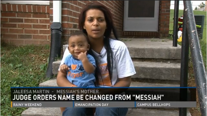 Illustration for article titled Jackass Judge Rules That Baby Can't Be Named 'Messiah'