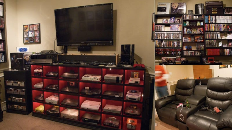 This Might Not Be The Best Gaming Setup Ever But Its Easily Most Historically Awesome Like A Hall Of Fame For Video Games Petes Or 16bitghosts