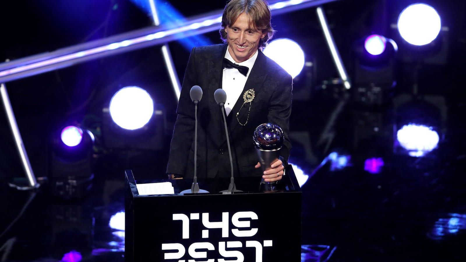"Luka Modrić Wins FIFA's Dumb Little ""The Best"" Award"