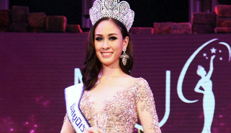 Illustration for article titled Miss Thailand Gives Up Title Over Criticism of Political Comments