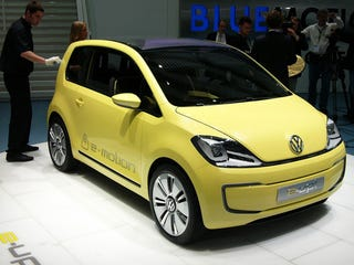 Illustration for article titled Volkswagen E-Up: Live Photos