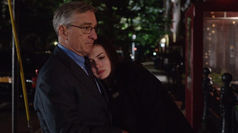 Illustration for article titled In The Intern, Anne Hathaway & Robert De Niro Explore an Unlikely Bromance