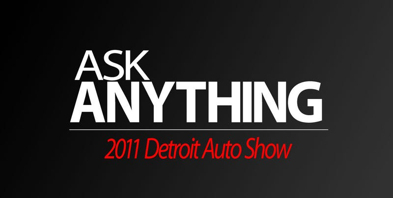 Illustration for article titled Ask Me Anything: Detroit Auto Show Edition