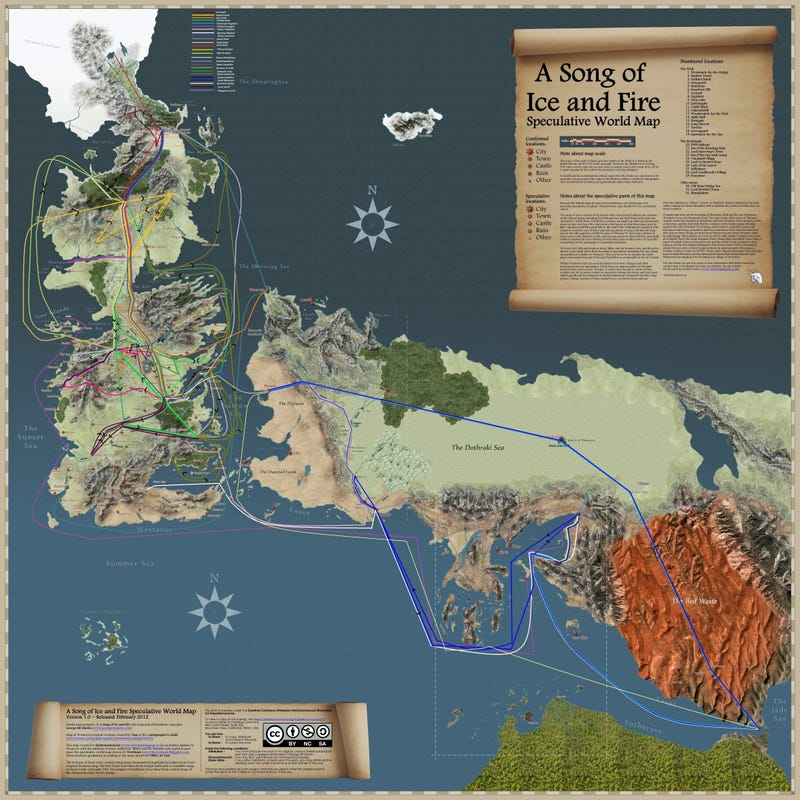 Fantasy Life World Map.The Most Incredible Fantasy Maps You Ve Ever Seen