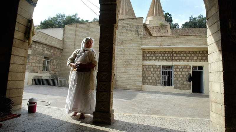 """Illustration for article titled Islamic State Is Selling Yazidi Women as """"Brides"""" to Fighters"""