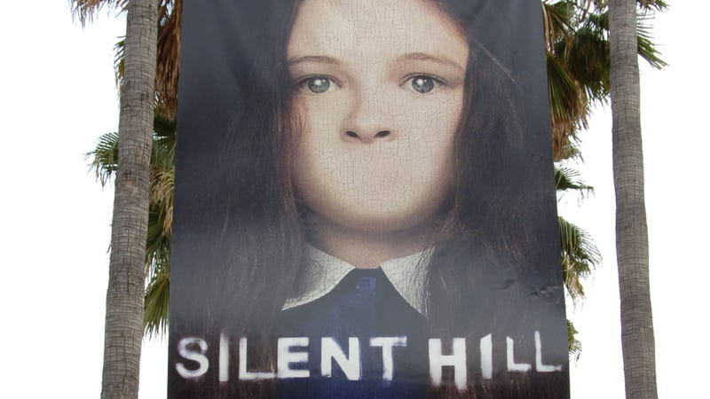 The movie's poster on display at the premiere of TriStar Pictures' Silent Hill at the Egyptian Theatre on April 20, 2006 in Hollywood, California.