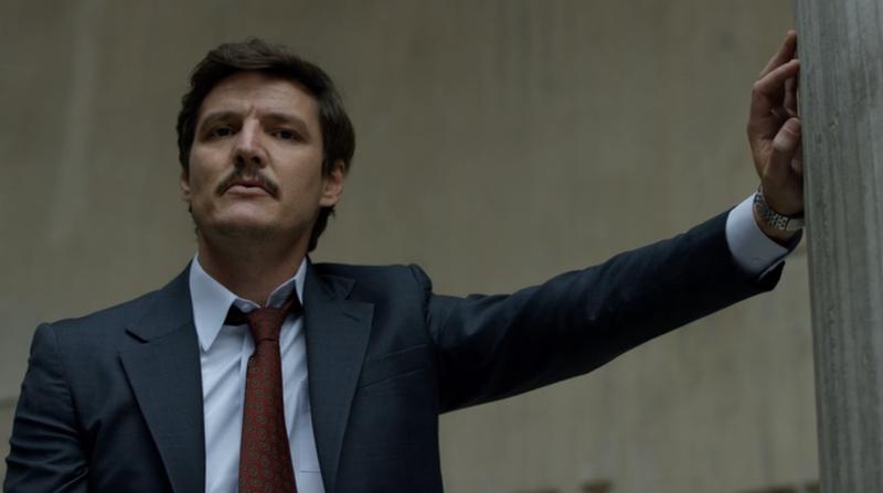 Pedro Pascal as Javier Peña (Screenshot: Netflix)