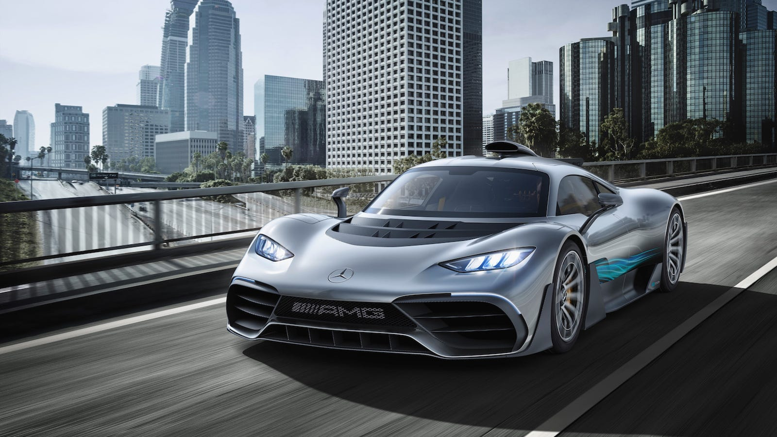 The Mercedes-AMG Project One Will Have As Much Downforce As A NASCAR Race Car