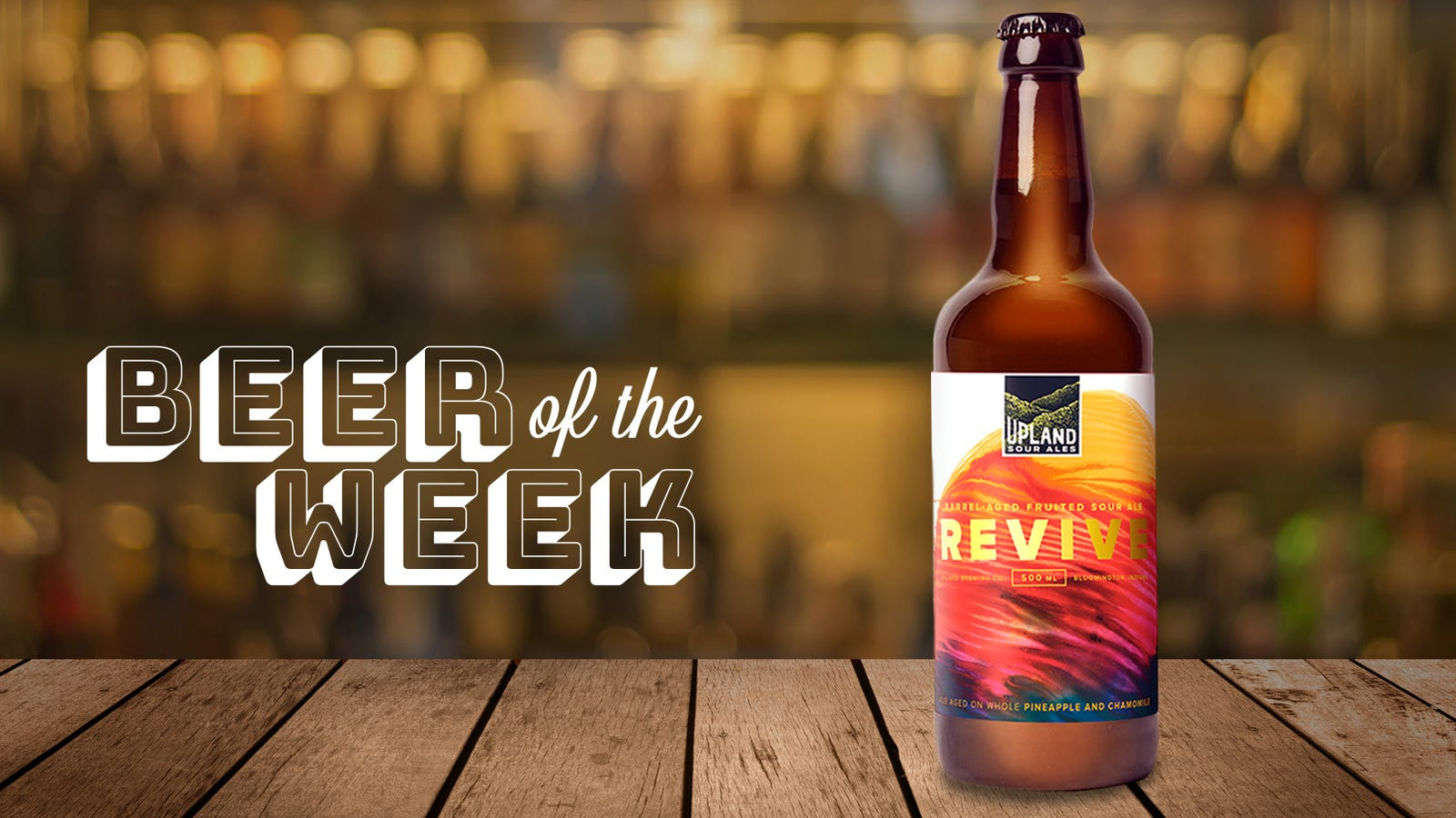 Beer of the Week: Upland Brewing Revive