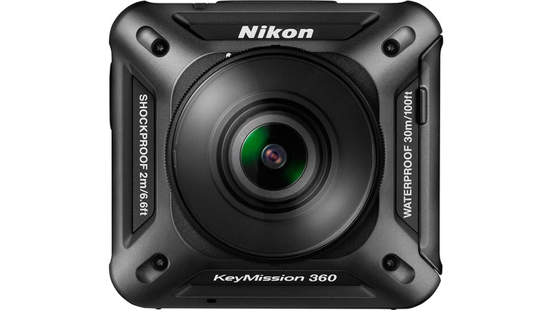 Illustration for article titled Keymission 360 Is Nikon's First Ever Action Camera