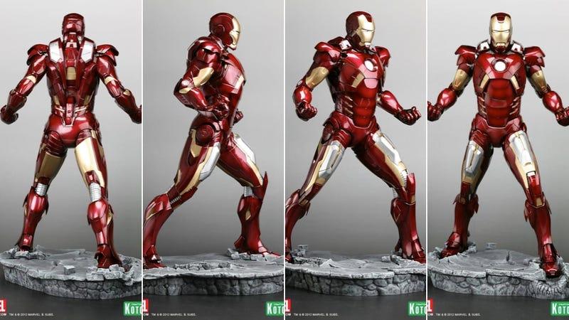Japan Makes a Nice Iron Man Statue