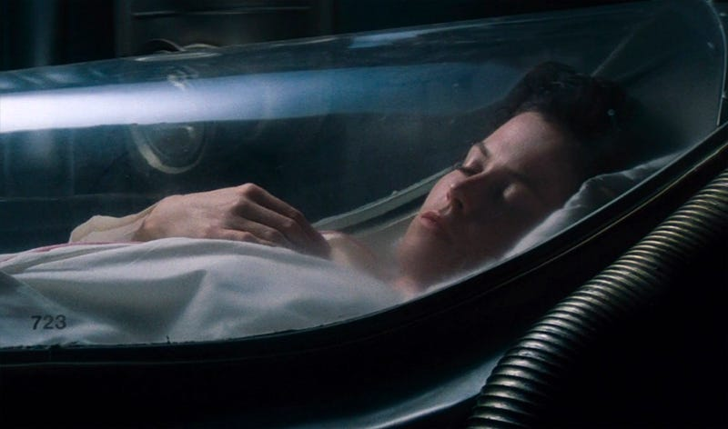Ripley in stasis, from Alien (20th Century Fox)