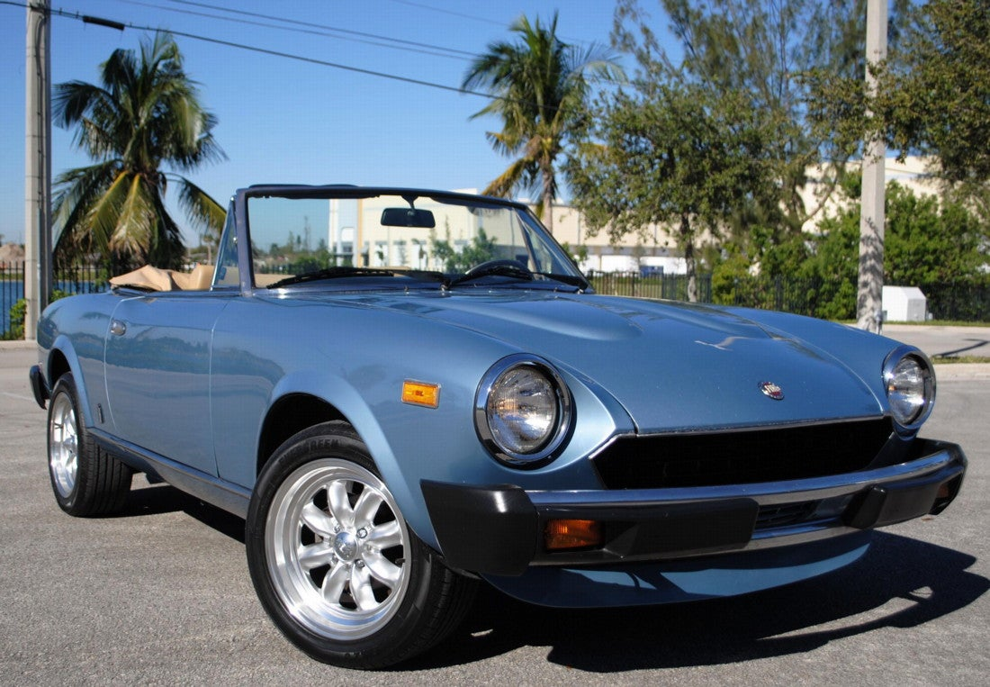 for 9 990 could this 1981 fiat 124 sport spider make you forget rh jalopnik com 1980 Fiat Spider 1981 fiat spider owners manual