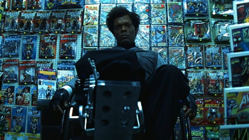 Samuel L. Jackson returns to his Unbreakable role in Glass.