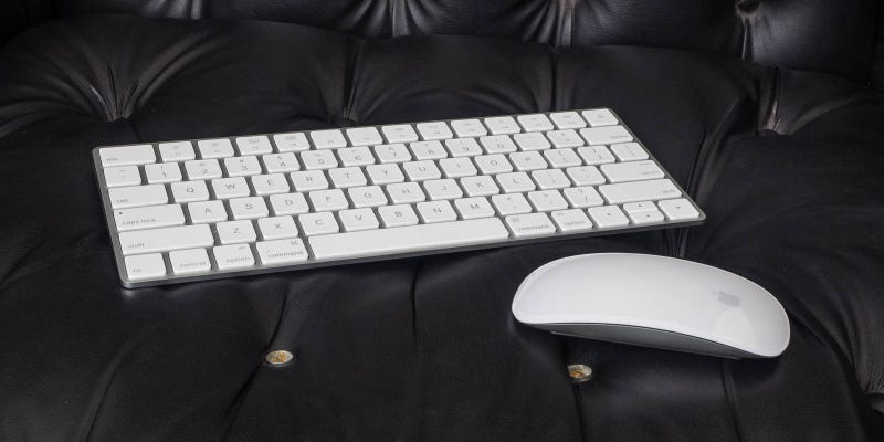 Illustration for article titled Apple's New Magic Keyboard and Mouse Make Typing Fun Again
